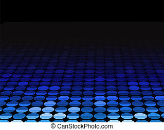 Background Dots Seamless Perspective 2