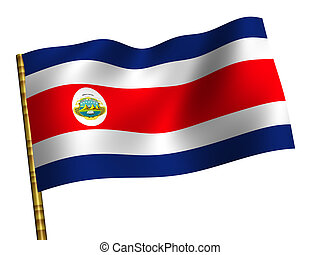 Costa Rica - National Flag Costa Rica