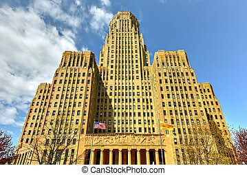 Buffalo City Hall - New York - Buffalo City Hall, the seat...