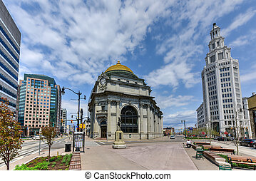 Buffalo Savings Bank - Buffalo, New York - May 8, 2016: The...