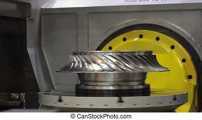 High-performance 5-axis CNC machining centre It includes...