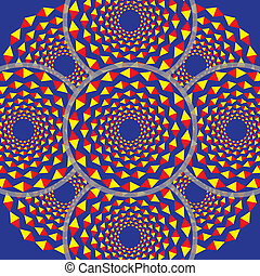 Kaleidoscopic (optical illusion)