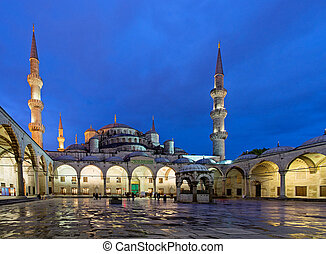 Sultan Ahmed Mosque in Istanbul Turkey - ISTANBUL - APR 20,...