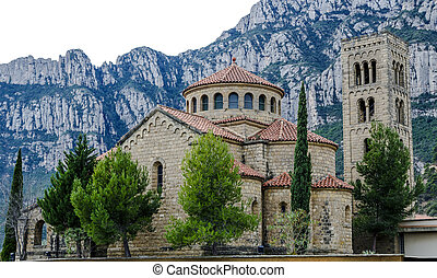 Church Our Lady of rosary Monistrol de Montserrat - Church...