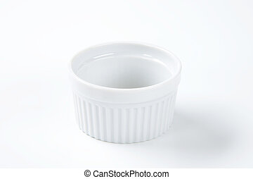 blanco,  China,  Ramekin