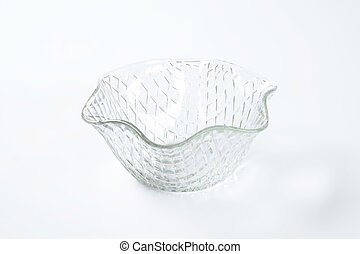 decorative glass bowl - decorative fruit or salad glass bowl