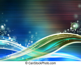 Swirling backgrounds