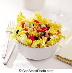 Mediterranean endive salad - A Mediterranean endive salad...