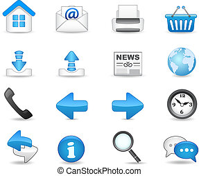 icon set - Universal icon set for your website.
