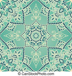 Vector turquoise pattern.
