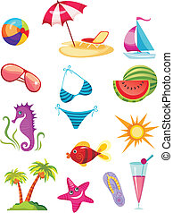 travel icon set - vector illustration of a travel icon set