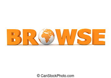 Browse World Orange