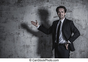 Portrait of businessman - Portrait of a businessman in suit...