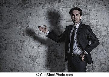 Portrait of businessman - Portrait of a businessman in suit...