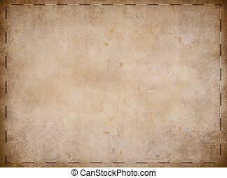 Old pirates treasure map background - Old pirates map...