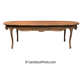 3D rendering of old table