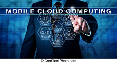 Manager Touching MOBILE CLOUD COMPUTING - Manager touching...