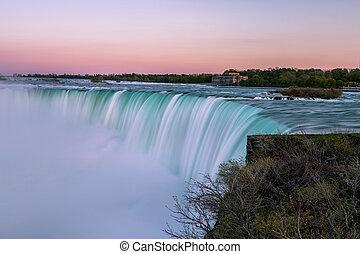 Niagara Falls - View of Niagara Falls, Ontario, Canada...