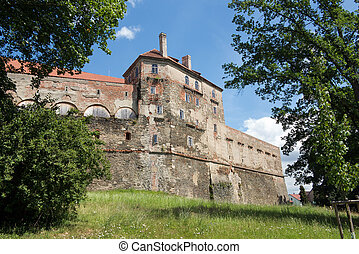 Horsovsky Tyn Castle - originally the bishops castle from...