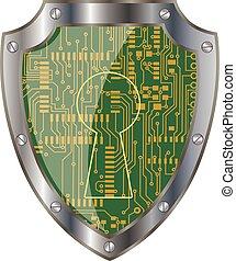 Electronics shield
