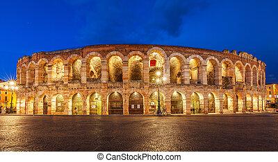 Arena di verona theatre in italy - Ancient amphitheater...