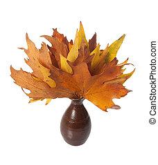 秋, 葉, つぼ