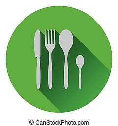 Silverware set icon