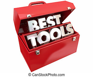 Best Tools Toolbox Most Powerful Quality Words 3d...