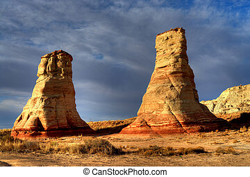 Hoodoo Navajo Nation Arizona - Hoodoo's near Tuba City...