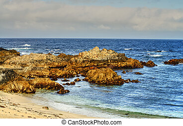 Asilomar State Marine Reserve - Early morning Asilomar State...