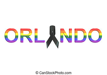 "Orlando nightclub shooting concept, ""3D rendering"""
