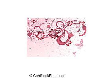 pattern floral fantasy