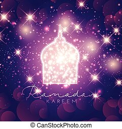 Ramadan Kareem background - Decorative Ramadan Kareem...
