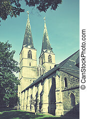 Church in Quedlinburg - Church of Saint Nicholas St...