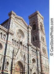 Duomo di Firenze - Campanile di Giotto and Duomo di Firenze,...