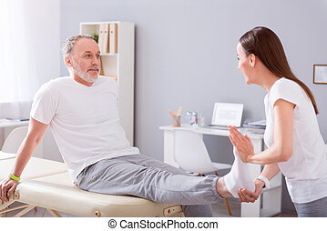 Modern rehabilitation physiotherapy - Real professional....
