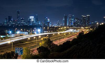 View from Tel Aviv University