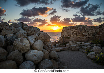 Stronghold in Apollonia National Park - Apollonia National...
