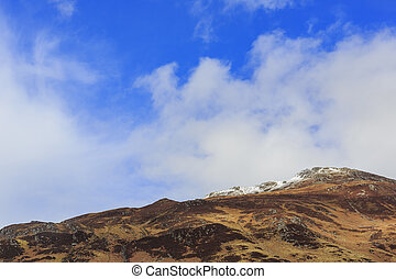Beautiful country side view with mountain at Highland,...