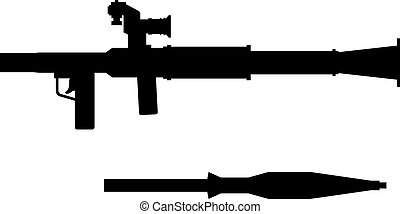 Grenade launcher, shade picture