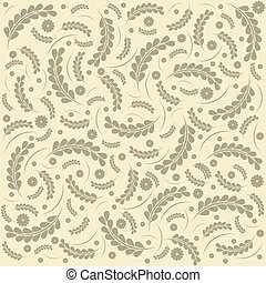 Abstract Elegance floral pattern.