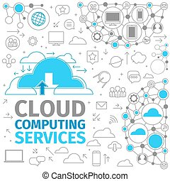 Cloud Computing Services - Storing information in the cloud....