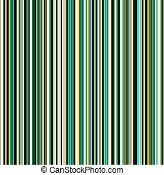 Seamless green colors vertical stripes pattern.