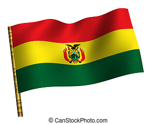 Bolivia - National Flag. Bolivia
