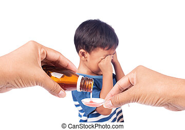child refused to take medication