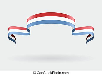 Luxembourg flag background Vector illustration - Luxembourg...