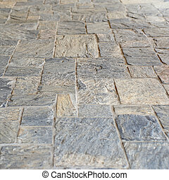 stone floor background - stone floor as background or...