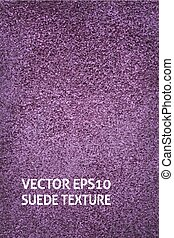 Vertical violet suede background - Closeup vertical violet...