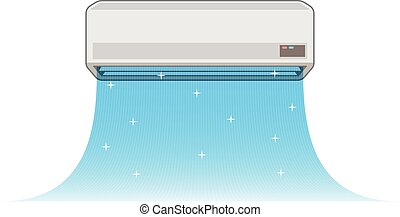 Air conditioning of Illustration - Vector...