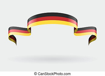 German flag background. Vector illustration. - German flag...